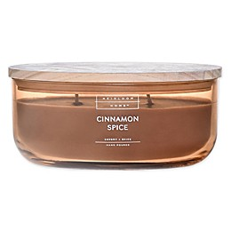 Heirloom Home Cinnamon Spice 18 oz. Dish Candle with Wood Lid