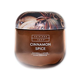 Heirloom Home Cinnamon Spice 14 oz. Jar Candle with Metal Lid