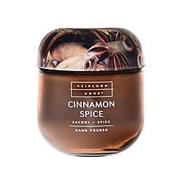 Heirloom Home Cinnamon Spice 4 oz. Jar Candle with Metal Lid