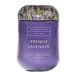 Heirloom Home French Lavender 24 oz. Jar Candle with Metal Lid