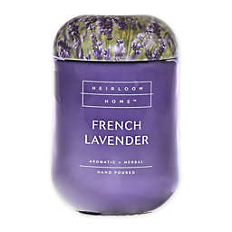 Heirloom Home™ French Lavender 24 oz. Jar Candle with Metal Lid