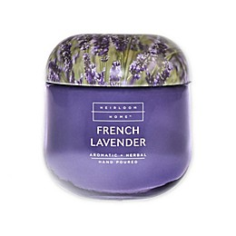 Heirloom Home French Lavender 14 oz. Jar Candle with Metal Lid