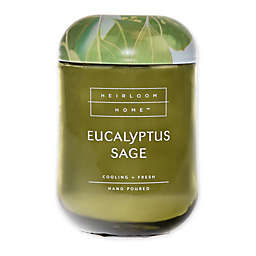 Heirloom Home™ Eucalyptus Sage 24 oz. Jar Candle with Metal Lid