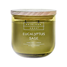 Heirloom Home™ Eucalyptus Sage 14 oz. Jar Candle with Wood Lid
