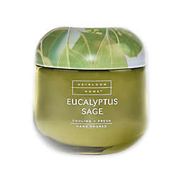 Heirloom Home™ Eucalyptus Sage 14 oz. Jar Candle with Metal Lid