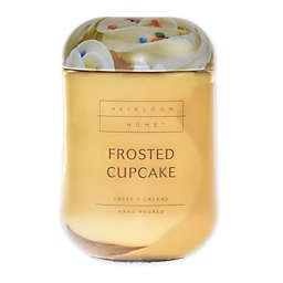 Heirloom Home™ Frosted Cupcake 24 oz. Jar Candle with Metal Lid