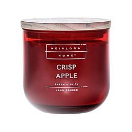 Heirloom Home Crisp Apple 14 oz. Jar Candle with Wood Lid