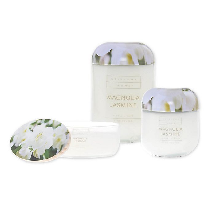 Alternate image 1 for Heirloom Home Magnolia Jasmine Candle Collection