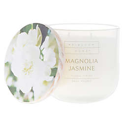 Heirloom Home™ Magnolia Jasmine 14 oz. Jar Candle with Wood Lid
