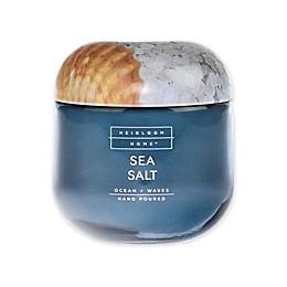 Heirloom Home Sea Salt 14 oz. Jar Candle with Metal Lid