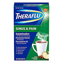 Theraflu® 6-Pack Sinus & Pain Hot Liquid Powder in Apple Cinnamon