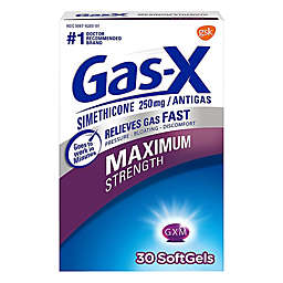 Gas-X 30-Count Maximum Strength Soft Gels