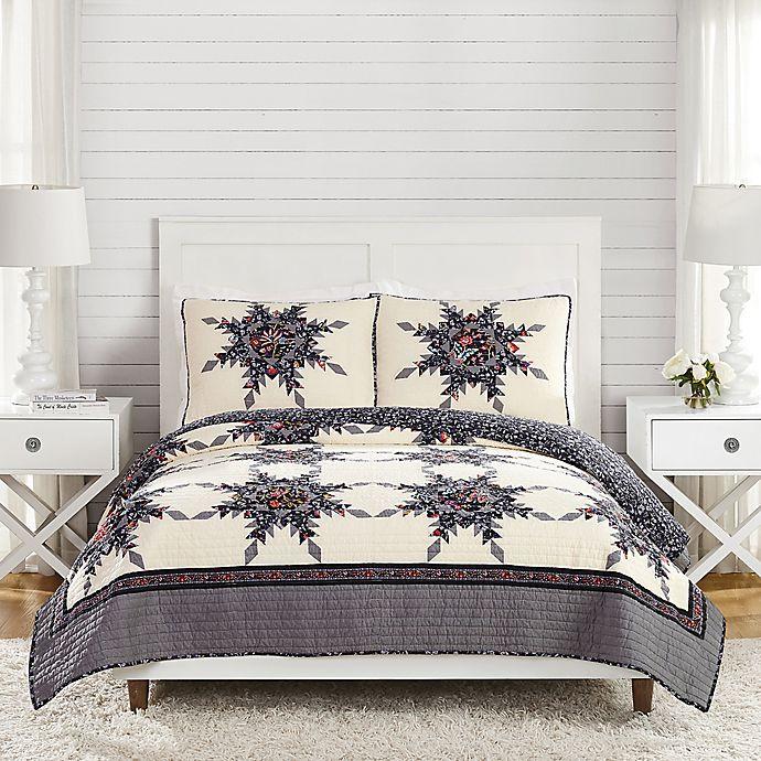 Alternate image 1 for Vera Bradley® Foxwood 3-Piece Reversible Quilt Set