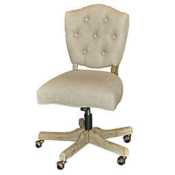 Linon Home Kelsey Office Chair in Natural