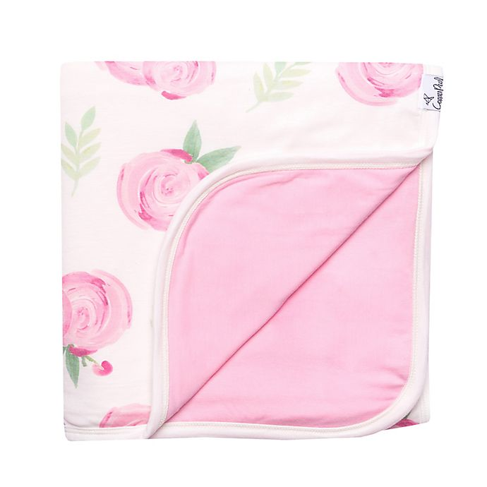 Alternate image 1 for Copper Pearl™ Grace 3-Layer Reversible Quilt in Pink Flower