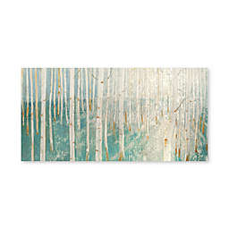 Artissimo Designs Birch Forest Printed Canvas Wall Art