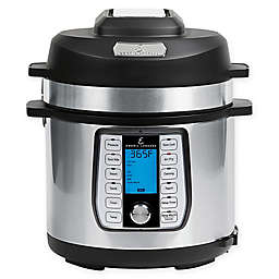 Emeril Lagasse 6 qt. Pressure Air Fryer in Stainless Steel/Black
