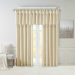 Madison Park Emilia Twist Tab Window Curtain Panel and Valance