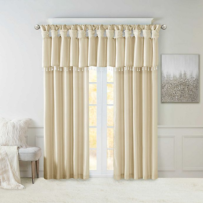 Madison Park Emilia Twist Tab Window Curtain Panel And