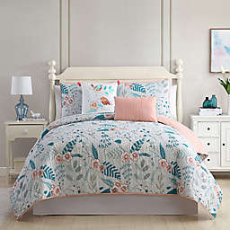 Geneva 5-Piece Reversible Quilt Set