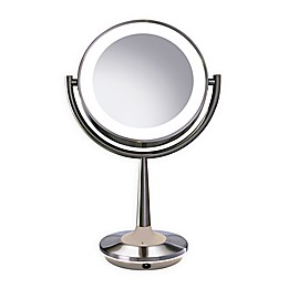 Brookstone Cordless Illuminated Makeup Mirror