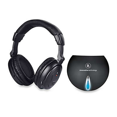 Innovative Technology™ Ithw-858 Wireless Headphones with Transmitter