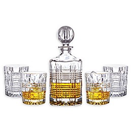 Fitz and Floyd® Portland 5-Piece Decanter Set