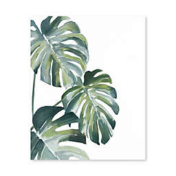 Artissimo Designs Dancing Leaves Printed Canvas Wall Art