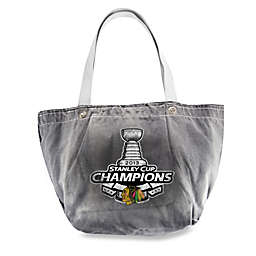 Chicago Blackhawks 2013 Stanley Cup Champions Vintage Tote Bag