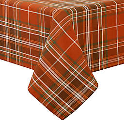 Elrene Home Fashions Loden Plaid Tablecloth