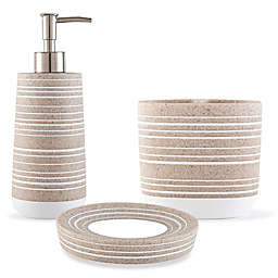 UGG® Layla Stripe Bath Accessory Collection