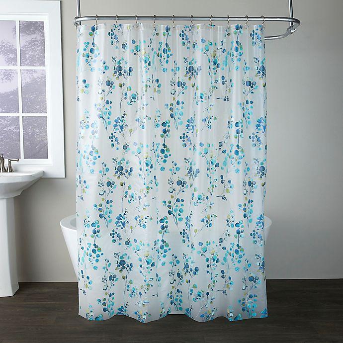 Alternate image 1 for SKL Home Blossoms Shower Curtain in Blue