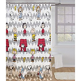 Peanuts™ Friends Shower Curtain