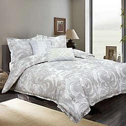 Nikki Chu Swirls Reversible Comforter Set