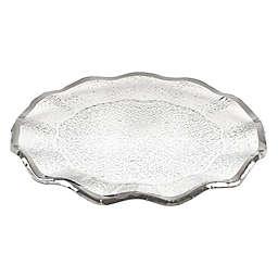 Badash Silver Edge 13-Inch Round Platter