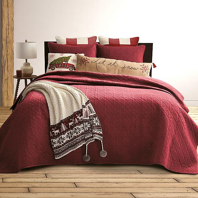 Alternate image 1 for Bee & Willow™ Home Velvet Quilt Set