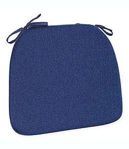 Cojín de espuma para silla Mayfair en azul marino