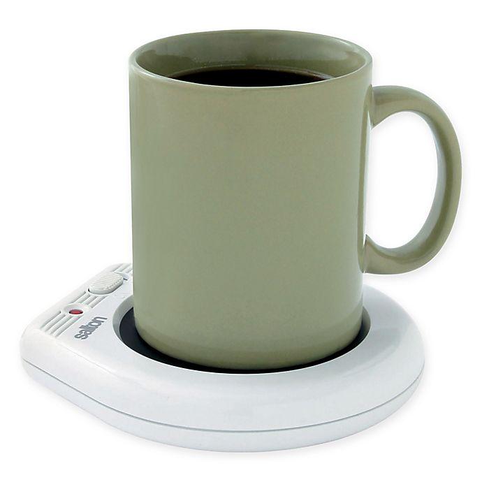 Alternate image 1 for Salton Mug Warmer in White