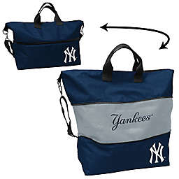 MLB Crosshatch Expandable Tote Collection