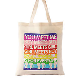 "BOY MEETS GIRL® ""You Meet Me"" Tote"