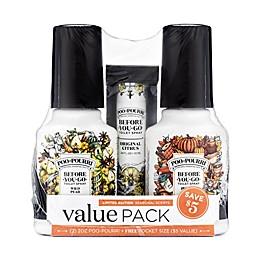Poo-Pourri® Before-You-Go® Harvest Value Pack Toilet Spray