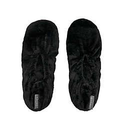 Brookstone® One Size Ultra Plush Footies in Black