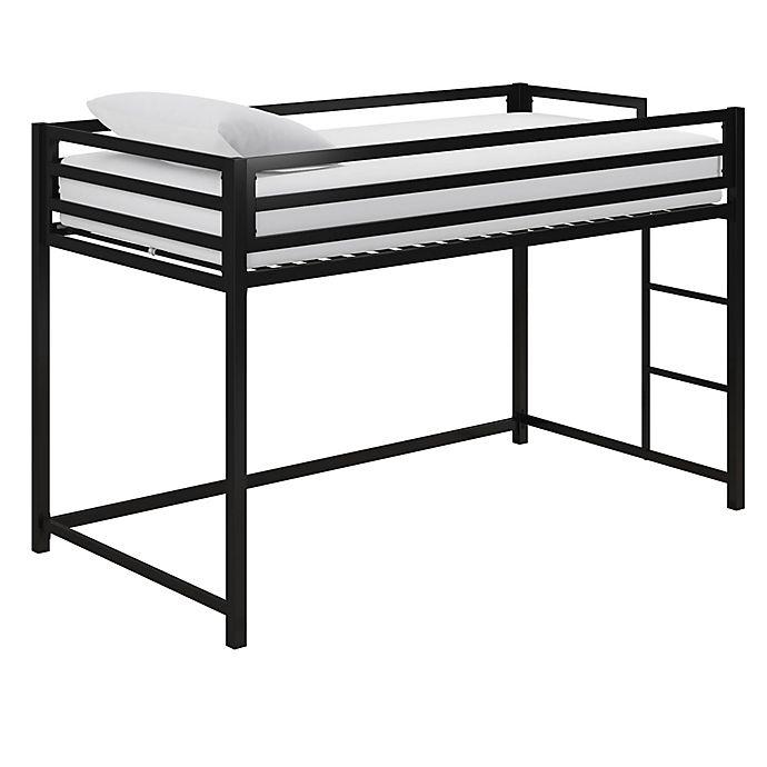 Alternate image 1 for EveryRoom Mason Twin Loft Bed in Black