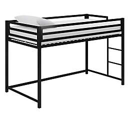 EveryRoom Mason Twin Loft Bed in Black