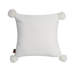 UGG® Cameron Square Throw Pillow in Snow