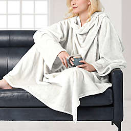 Brookstone® NAP Wearable Throw Blanket in Ivory