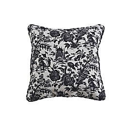 One Kings Lane Open House™ Maura Square Throw Pillow in Grey