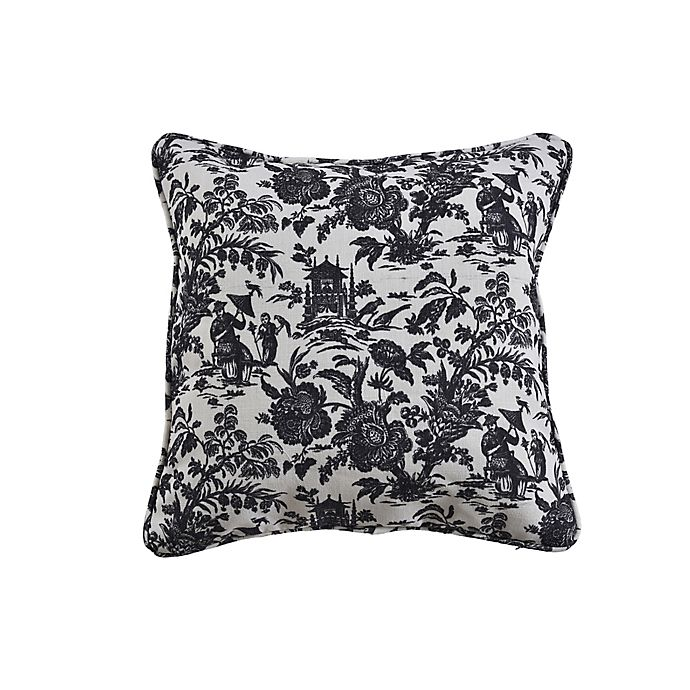 Alternate image 1 for One Kings Lane Open House™ Maura Square Throw Pillow in Grey