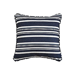 One Kings Lane™ Open House Alana Square Throw Pillow in Blue