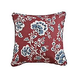 One Kings Lane™ Open House Catrine Square Throw Pillow in Coral